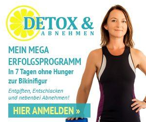 detox und abnehmen mit Erfolg