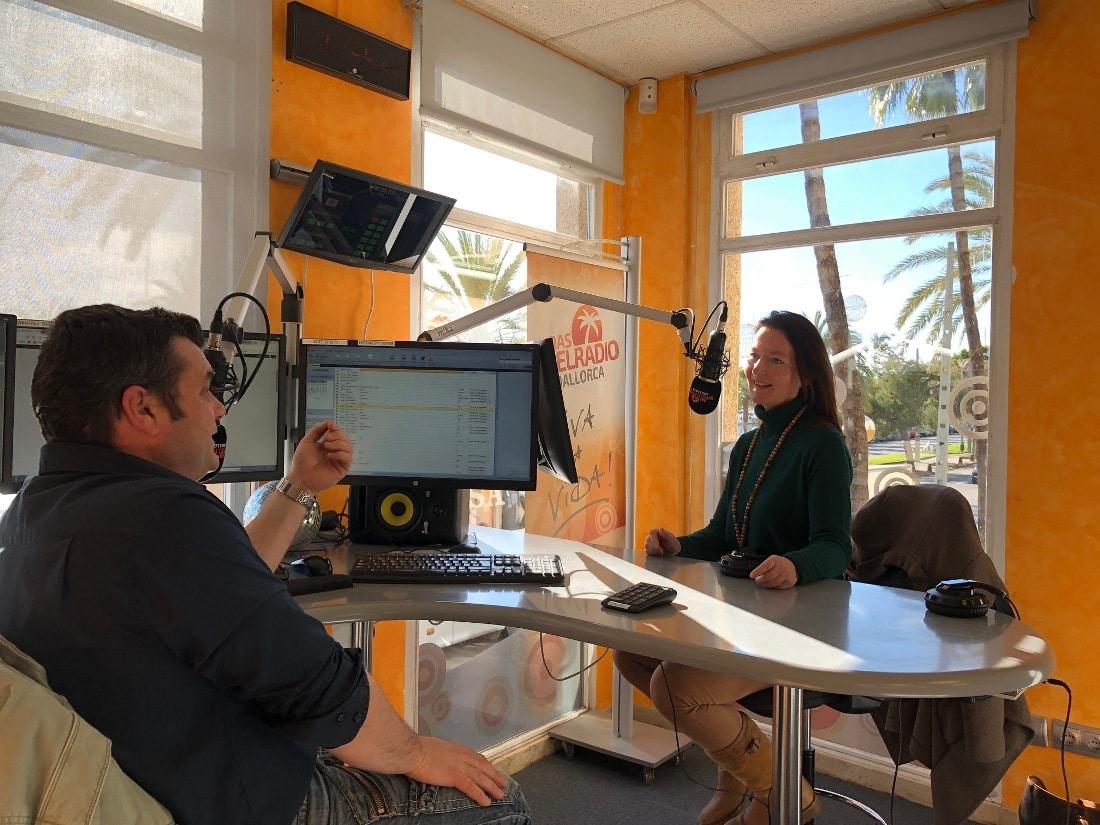 Interview im Inselradio mit Heike